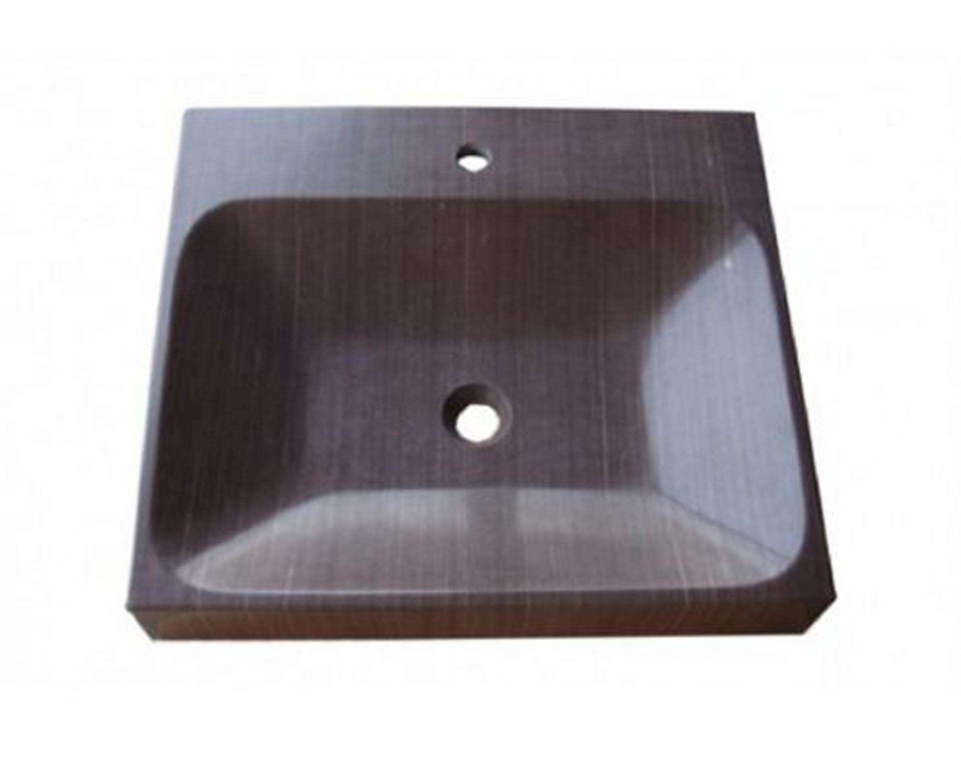 Håndvask udarbejdet i granit, som er lavet til nedfældning.