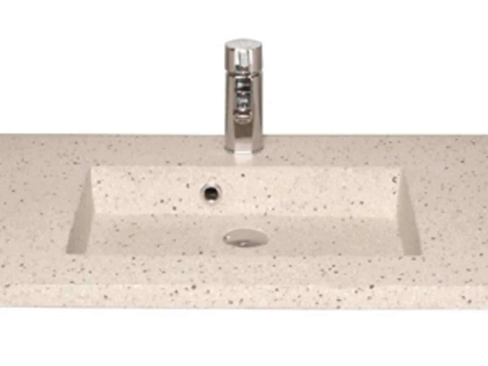 Velsete Håndvaske i granit, beton og terrazzo - fra KKP Interiør NT-21