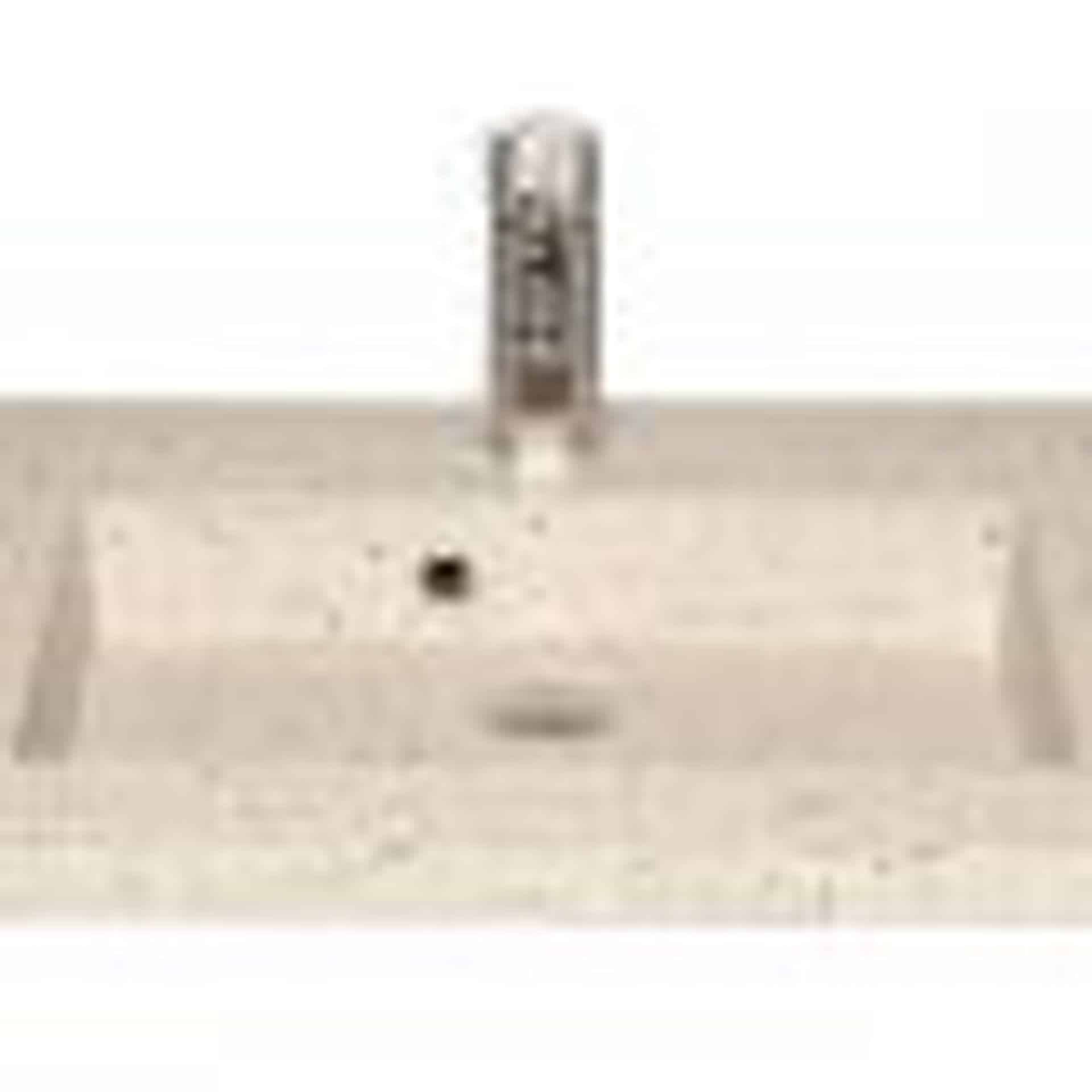 Håndvask i lys terrazzo