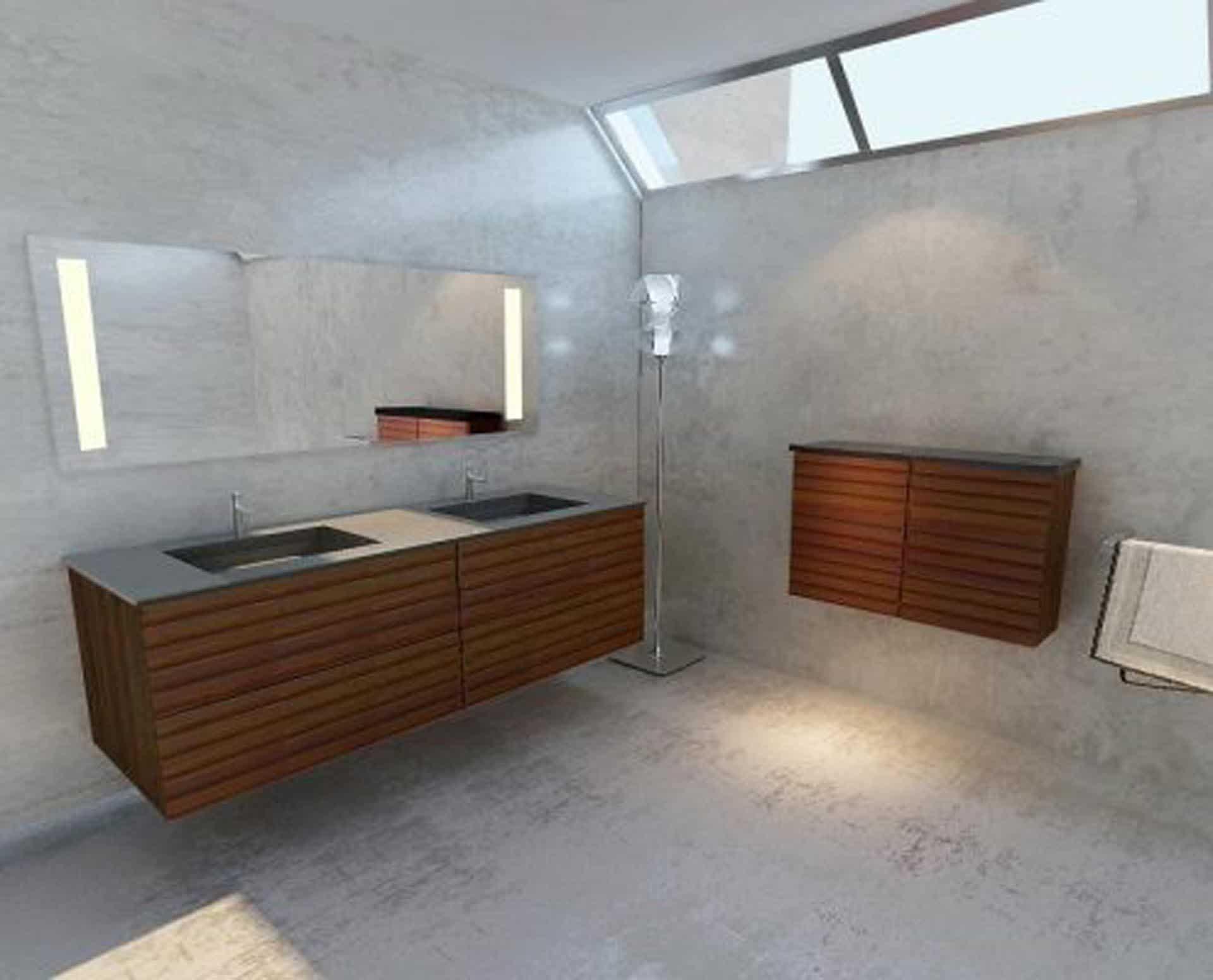 Lækker og simpel beton håndvask, med pæne afrundinger. Farven er i grå - en fantastik flot, moderne og naturlig betonfarve, der passer ind i ethvert badeværelse. Materialet er en kombination af komposit, fiber og beton, dette gør, at vasken er væsentlig stærkere end normal beton. Beton tåler ikke stærke rengøringsmidler, eller syreholdige produkter. Vi anbefaler derfor at vasken rengøres i pH neutralt rengøringsmiddel. Vasken har målene: 163,2 x 54,5 x 4 cm. Vasken kan bruges som fritstående vask - da vasken er flad i bunden er den velegnet til at placere direkte på en bordplade. Vasken er hensynsmæssigt designet med fine rundinger, som både giver vasken et eksklusivt udtryk og gør den rengøringsvenlig. Vasken vedligeholdes med voks - vi anbefaler en behandling med vores egen naturvoks ID12002 et par gange om året for at opnå optimalt look.