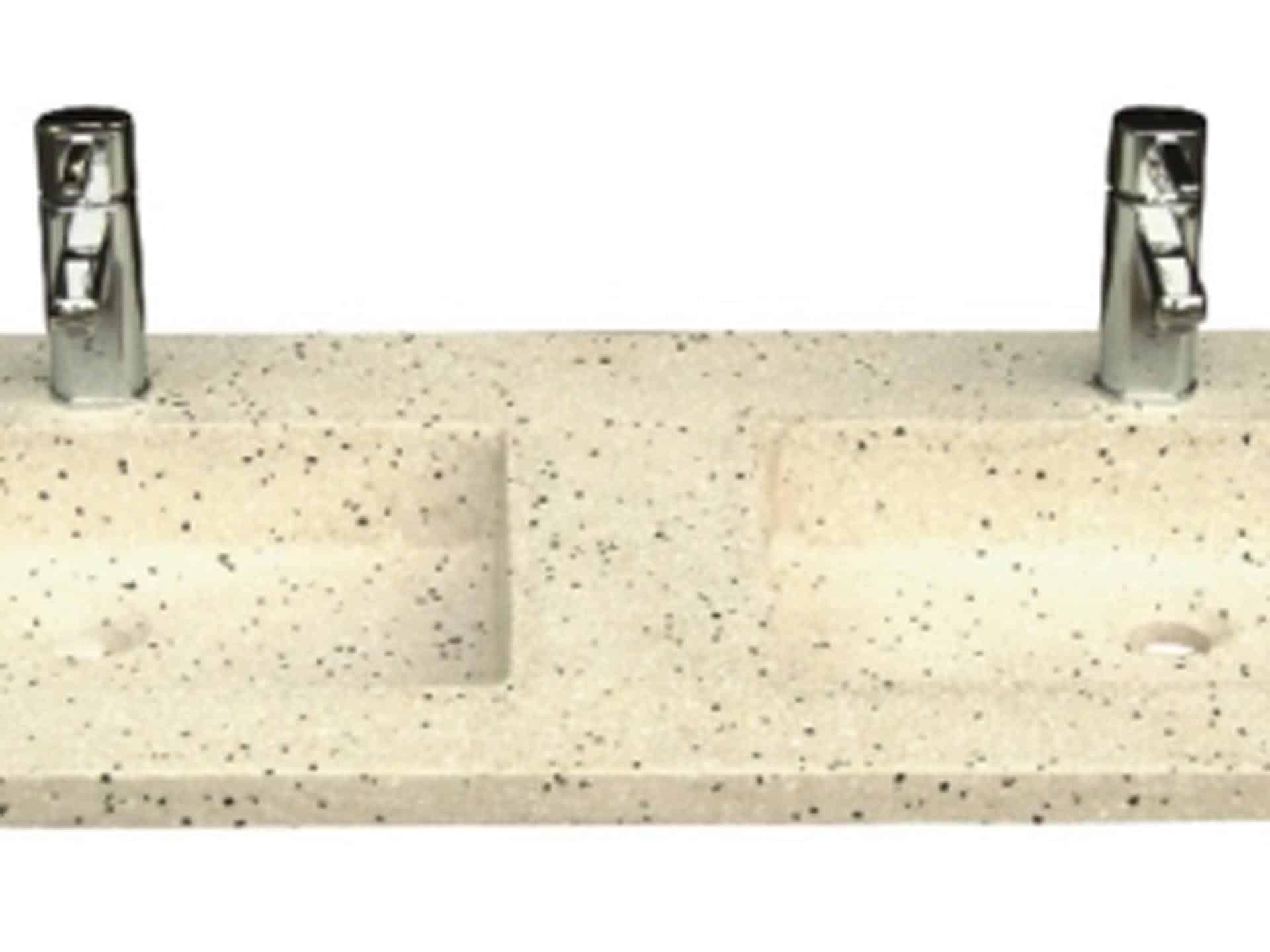 Lys terrazzo vask