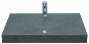 Firkantet håndvask i massiv granit