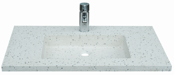 Tynd terrazzo håndvask