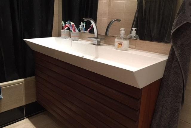 Bred håndvask i Top-Solid,